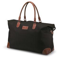 Geanta mare sport sau voiaj, poliester, Everestus, GV2, negru, saculet de calatorie si eticheta bagaj incluse