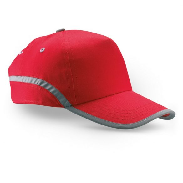 Sapca de baseball bumbac, red