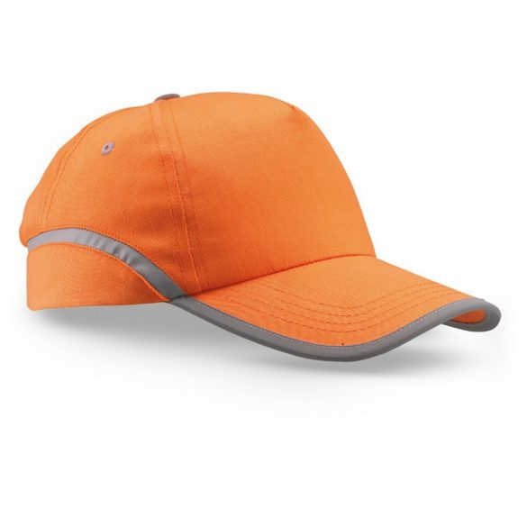 Sapca de baseball bumbac, orange