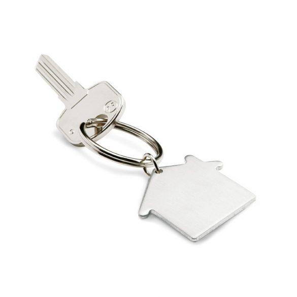 Breloc casa, Everestus, KR0217, metal, argintiu