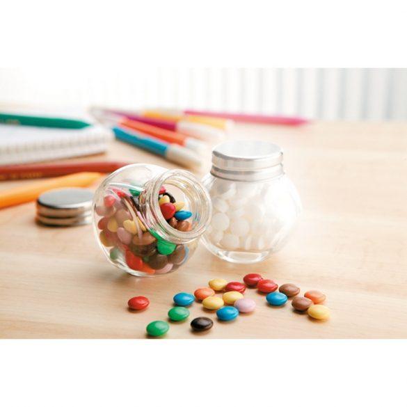 Ciocolata in borcanas (30g), Glass, multicolor