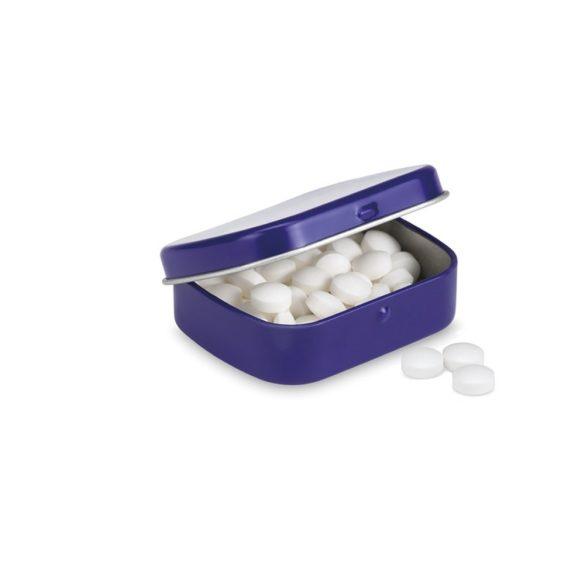 28 grame drajeuri mentolate, Tin, blue