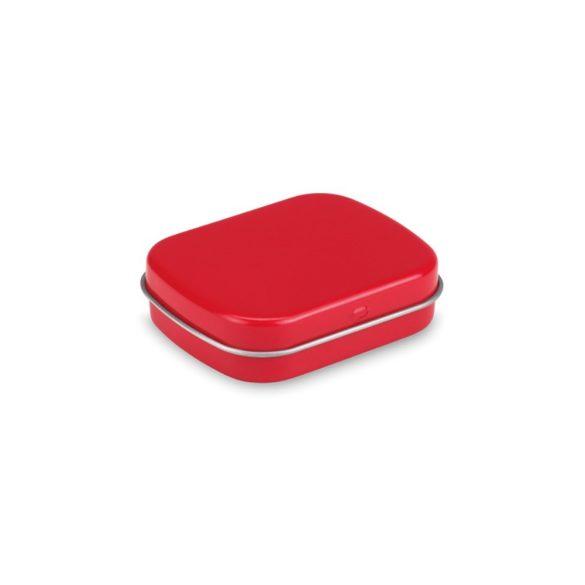 28 grame drajeuri mentolate, Tin, red
