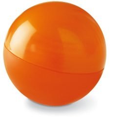 Balsam buze in cutie rotunda, Plastic, orange
