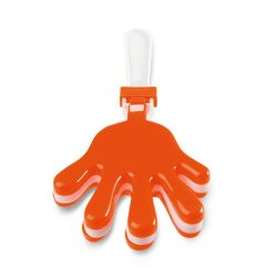 Dispozitiv zgomot/ forma palma, Plastic, orange
