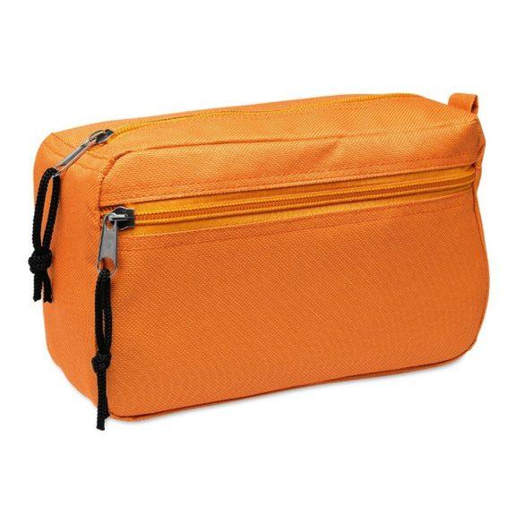 Borseta cosmetice pentru voiaj, Everestus, SST02, poliester 600D, portocaliu