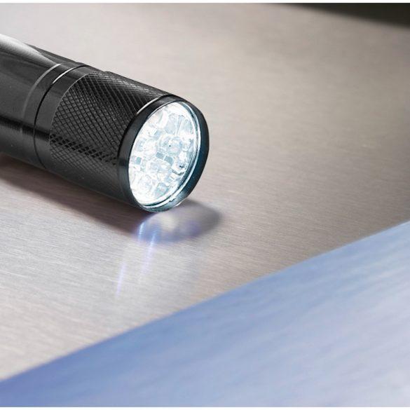 Lanterna cu LED in cutie metal, aluminiu, black