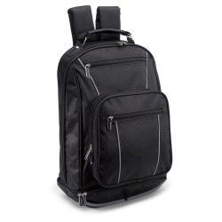 Rucsac pentru Laptop 13 inch, poliester, Everestus, GL26, negru, saculet de calatorie si eticheta bagaj incluse