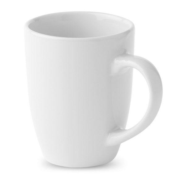 Cana moderna din ceramica, Ceramics, white