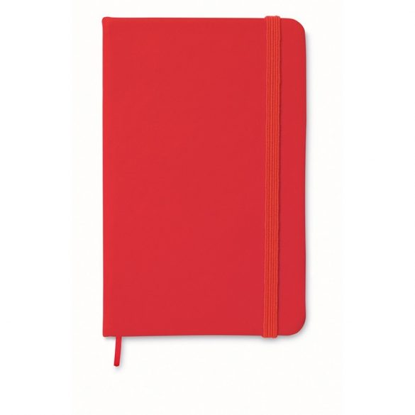 Carnet A6 liniat, Paper, red