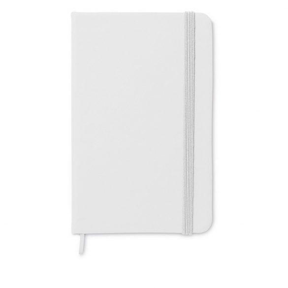 Carnet A6 liniat, Paper, white