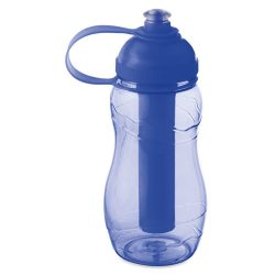 Sticla de baut 400 ml inghetat, Plastic, transparent blue