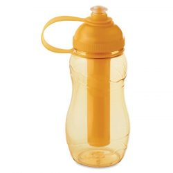 Sticla de baut 400 ml inghetat, Plastic, transparent orange