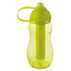 Sticla de baut 400 ml inghetat, Plastic, transparent lime