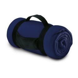 Patura de picnic confortabila, 150x120 cm, Everestus, PP01, poliester, albastru, saculet de calatorie inclus