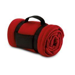 Patura de picnic confortabila, 150x120 cm, Everestus, PP05, poliester, rosu, saculet de calatorie inclus