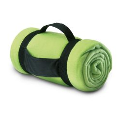 Patura de picnic confortabila, 150x120 cm, Everestus, PP03, poliester, verde lime, saculet de calatorie inclus