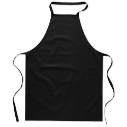 Sort bucatarie pentru gatit, Everestus, SB17, bumbac, negru