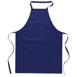 Sort bucatarie pentru gatit, Everestus, SB18, bumbac, albastru, saculet de calatorie inclus