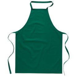 Sort bucatarie pentru gatit, Everestus, SB20, bumbac, verde, saculet de calatorie inclus