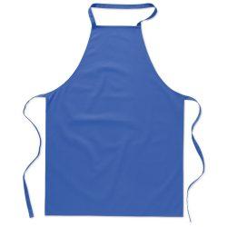 Sort bucatarie pentru gatit, Everestus, SB24, bumbac, albastru royal, saculet de calatorie inclus