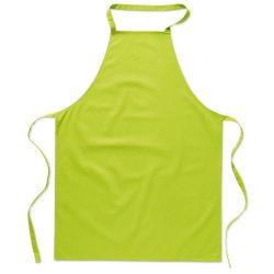 Sort bucatarie pentru gatit, Everestus, SB22, bumbac, verde lime, saculet de calatorie inclus