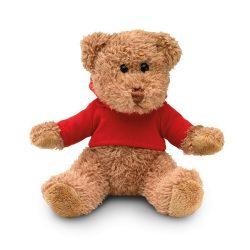 Ursulet din plus cu tricou, Plush, red