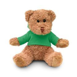 Ursulet din plus cu tricou, Plush, green