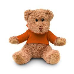 Ursulet din plus cu tricou, Plush, orange