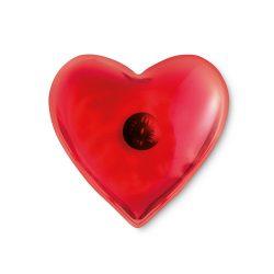 Compresa in forma de inima, Plastic, red