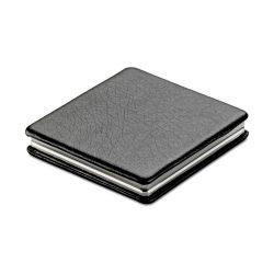 Oglinda dubla magnetica, Alloy zinc, black
