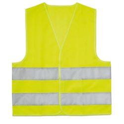 Vesta reflectorizanta copii, poliester, yellow
