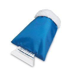 Curatitor de gheata cu manusa, Plastic, blue