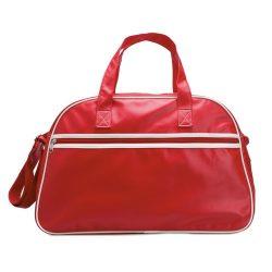 Geanta sport de bowling, pvc, Everestus, GS5, rosu, saculet de calatorie si eticheta bagaj incluse