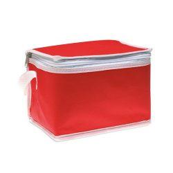 Geanta frigorifica pt. 6 doze, netesut, red
