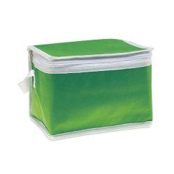 Geanta termoizolanta pentru 6 doze, material textil netesut, Everestus, AGTF93, verde