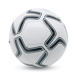 Minge de fotbal din pvc, Everestus, MF1, alb/negru