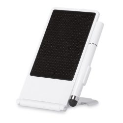 Suport pt. smartphone cu pix, ABS, white