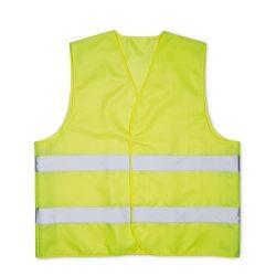 Vesta din poliester, poliester, yellow
