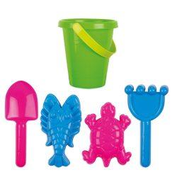 Set de plaja pentru copii, Plastic, multicolor