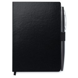 Set agenda A6 si Pix, 72 pagini dictando, Everestus, 20IAN1786, Negru, Hartie
