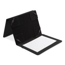 Mapa A5 pt tableta / blocnotes, materiale multiple, Everestus, MC16, negru, saculet de calatorie si lupa de citit incluse