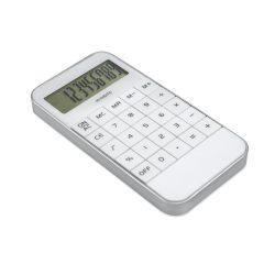 Calculator de birou cu 10 cifre, Everestus, 20IAN1185, Alb, Plastic