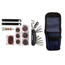 Set pentru reparat bicicleta, materiale multiple, blue