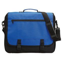 Geanta pentru documente, compartimente diverse, Everestus, GD01, poliester 600D, albastru