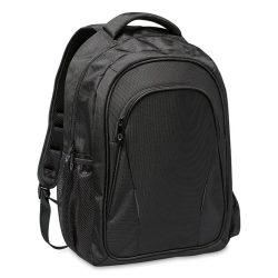 Rucsac pentru Laptop 15 inch, poliester, Everestus, GL27, negru, saculet de calatorie si eticheta bagaj incluse