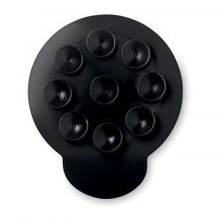 Suport telefon cu ventuza, Everestus, STT010, plastic, negru