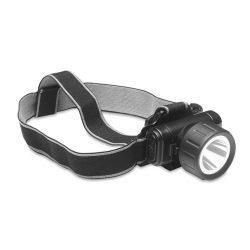 Bec de bicicleta cu LED de 1W, Everestus, LTP01, abs plastic, negru, saculet de calatorie inclus
