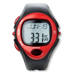 Ceas de mana sport digital, materiale multiple, red