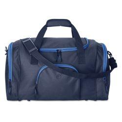 Geanta sport din poliester 600D, Everestus, GS7, albastru, saculet de calatorie si eticheta bagaj incluse